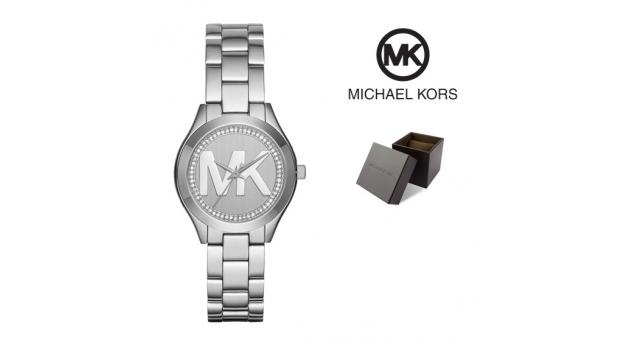 Relógio Michael Kors® Runway Slim Mini ll Silver  -  5ATM