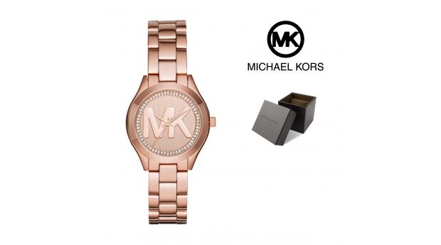 Relógio Michael Kors® Runway Slim Mini ll Rose Gold  -  5ATM