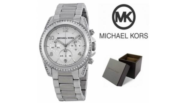 Relógio Michael Kors® Ladies White Crystal  -  Cronógrafo  -  10ATM