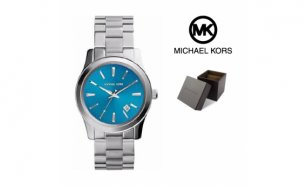 Relógio Michael Kors® Stainless Steel Blue Dial | 10ATM
