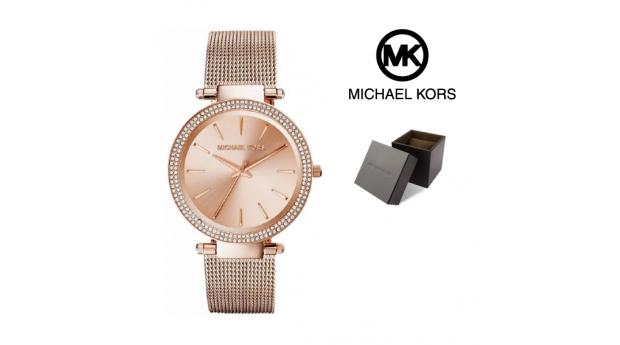 Relógio Michael Kors® Darci Rose Gold  -  5ATM