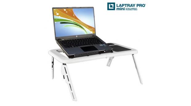 Mesa com Ventoinha para Portátil Laptray Pro Mini