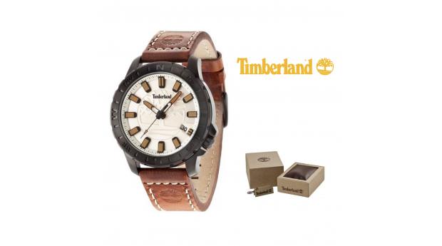 Relógio Timberland® Wayland Beige  -  5ATM
