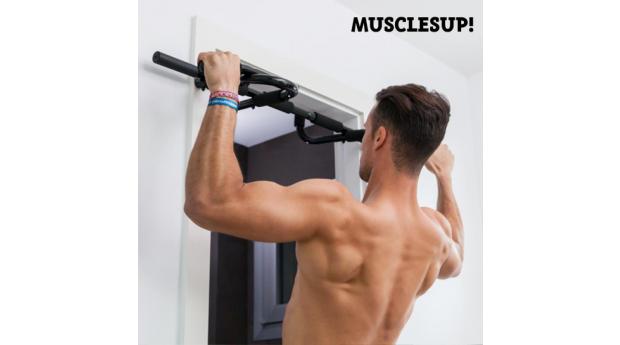 Barra de Elevações e Exercícios Muscles Up! Pro
