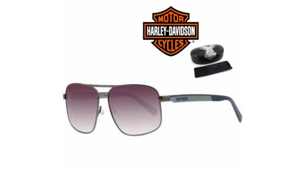 Harley Davidson Óculos De Sol HaDA868 BSGUN-46 60