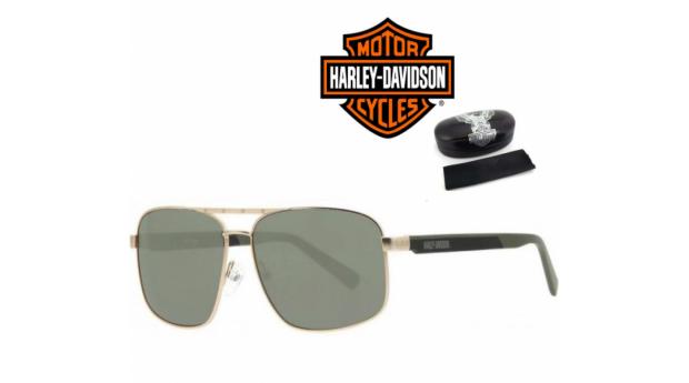 Harley Davidson Óculos De Sol HaDA868 Gld- 60