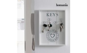Quadro Organizador de Chaves I Love My Home by Homania