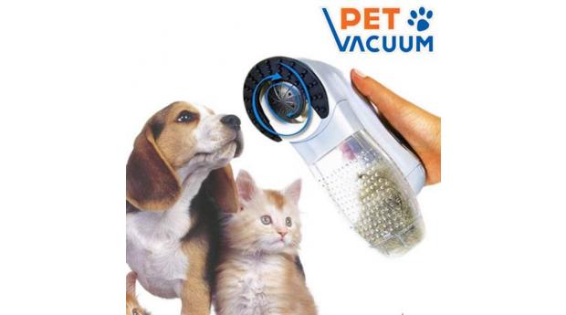 Aspirador de Pêlo de Animais Pet Vacuum