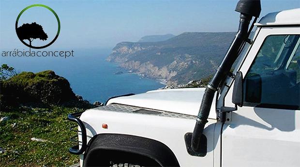Jeep 4x4 na Serra da Arrábida com Degustação de vinho e Produtos Regionais  -  Dia Inteiro!