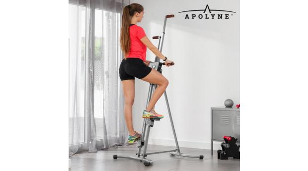 Máquina de Escalada Vertical de Fitness com Vídeo de Exercícios 4x Vertical Climber