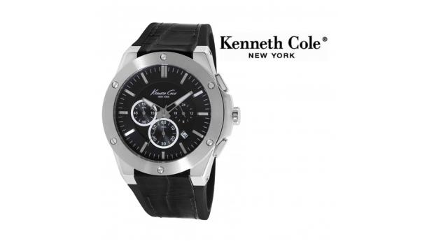 Desconto Black Friday! Relógio Kenneth Cole® New York Dress Sport Com Cronógrafo  -  3ATM