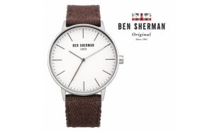 Desconto Black Friday! Relógio Ben Sherman® London Original Since 1963 WB009PA I 3ATM