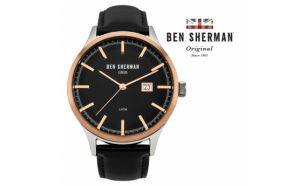 Desconto Black Friday! Relógio Ben Sherman® London Original Since 1963 WB056BB I 3ATM