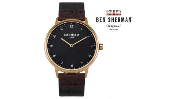 Desconto Black Friday! Relógio Ben Sherman® London Original Since 1963 WB049BRG I 3ATM