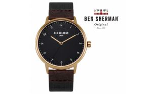 Desconto Black Friday! Relógio Ben Sherman® London Original Since 1963 WB049BRG I 3ATM