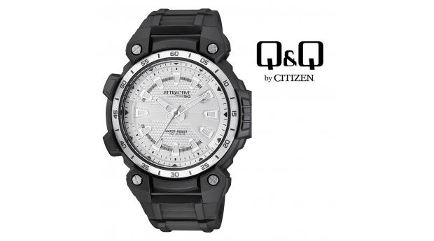 Desconto Black Friday! Relógio Q&Q® by CITIZEN  -  Attractive DG18J003Y