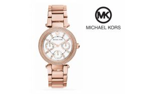 Relógio Michael Kors® Mini Parker Rose Gold | 10ATM