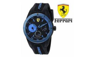 59dbe840dd0 Relógio Ferrari® Scuderia Aerodinamico Black