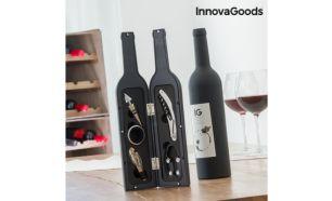 Estojo de Vinho Garrafa InnovaGoods (5 Peças) d4074bc280