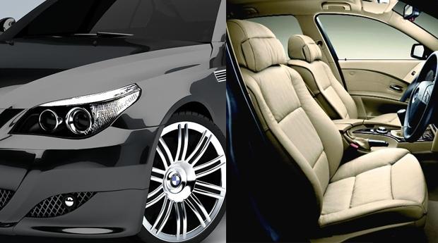 1 ou 3 Lavagens Completas ao Teu Automóvel! Limpeza Interior e Exterior com Cera!