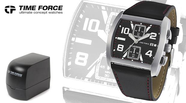Relógio Time Force  de Homem em Aço Inoxidável! (Portes Grátis)