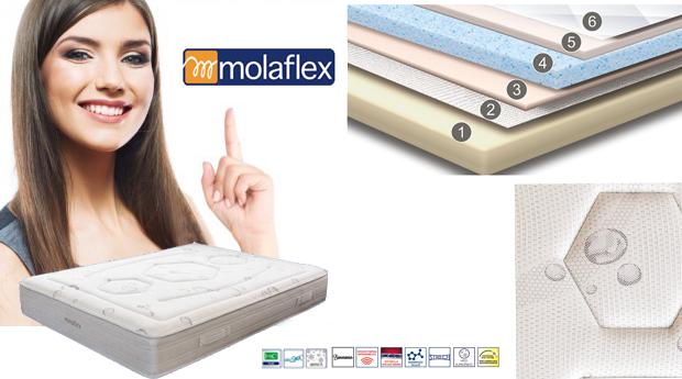 Colchão Molaflex Essence Adapt Plus Biocer!