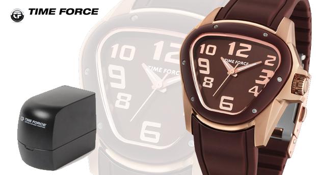 Relógio Time Force Senhora 'Gold&Brown'! (Portes Grátis)