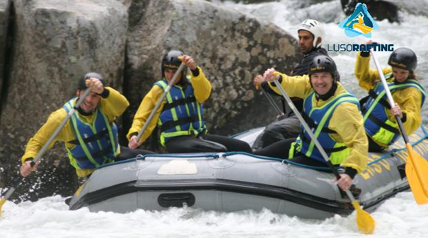 Baptismo de Rafting ou Micro- Rafting no Rio Paiva!
