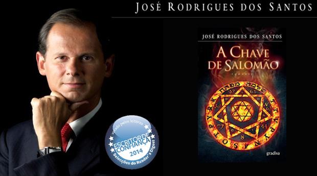 NOVIDADE! A Chave de Salomão de José Rodrigues dos Santos! (Portes Incluídos)
