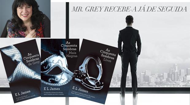 As 50 Sombras de Grey de E. L. James! A Trilogia que Todas as Mulheres Falam... Discretamente! (Portes Incluídos)