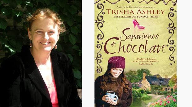 Sapatinhos de Chocolate de Trisha Ashley! (Portes Incluídos)