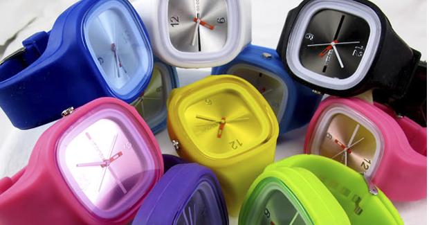 Relógios Jelly! (Portes Incluídos)