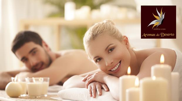 Massagem de 1 Hora Para Casal! Com Vinho do Porto e Bombons Incluídos!