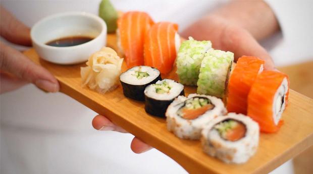 Workshop de Sushi com Jantar Incluído!
