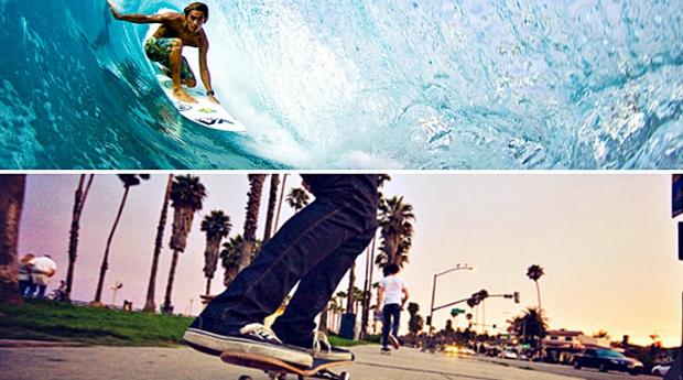 1 ou 2 Aulas de Surf ou Skate! Deixa-te levar na Onda dos Desportos Radicais!