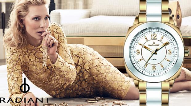 Relógio de Senhora Radiant New Mode Gold! (Portes Incluídos)