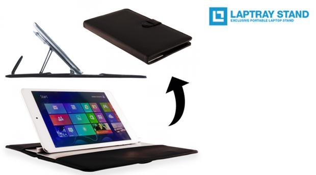 Capa para Tablet com Suporte  Laptray Stand!