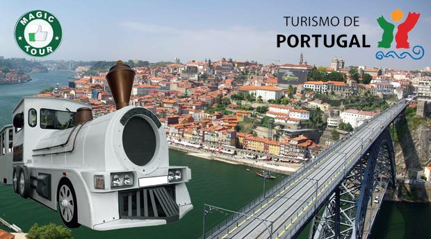Passeio de Comboio com Visita Guiada às Caves e Prova de Vinhos, no Porto!