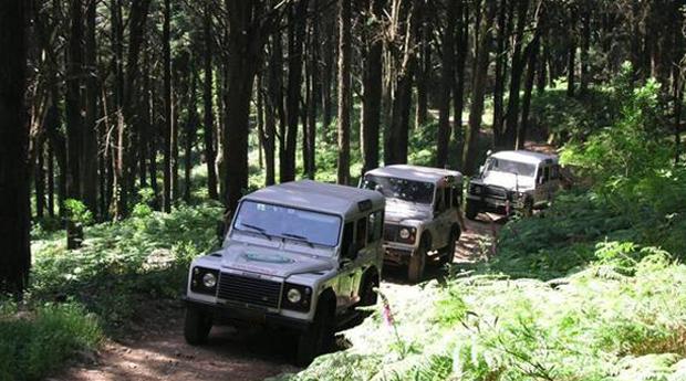Experiência 4x4 no Parque Natural da Serra de Sintra!