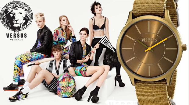 Relógio Versus Less Gold! (Portes Incluídos)