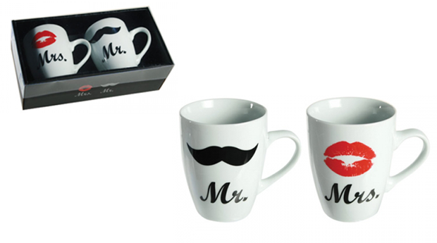 Canecas Mr&Mrs!