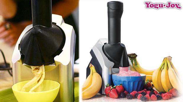 Máquina de Gelados Naturais de Iogurte Yogu-Joy!