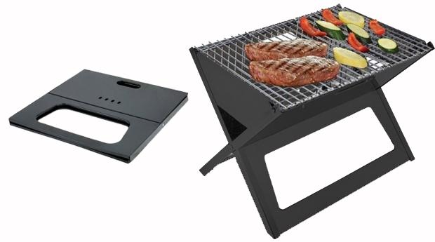 Barbecue Portátil e Dobrável! (Portes Incluídos)