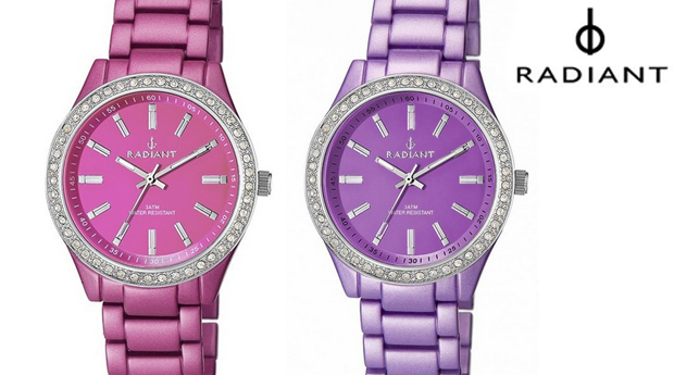 Relógio de Senhora Radiant New Lady Pink & Purple! (Portes Incluídos)