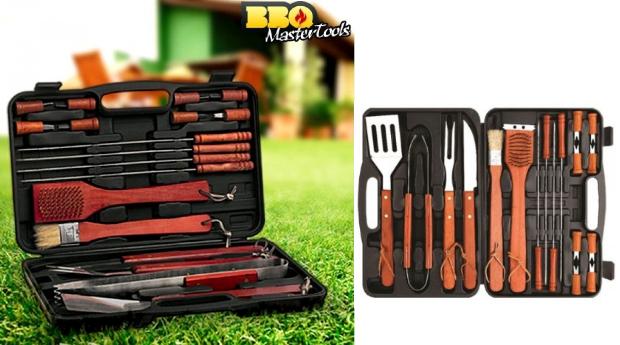 Conjunto de Acessórios Barbecue BBQ Master Tools!