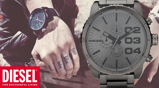 Relógio Diesel® DZ4215 Franchise Gunmetal XL!