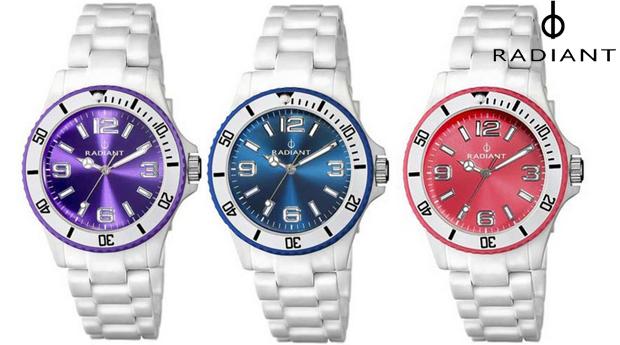 Relógios de Senhora Radiant New Fly! 3 Cores Disponíveis! (Portes Incluídos)