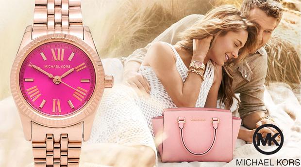 Relógio de Senhora Michael Kors Pink! (Portes Incluídos)