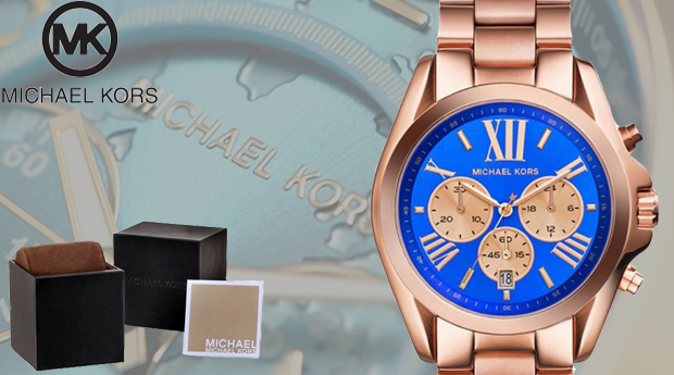 Relógio de Homem Michael Kors Blue! (Portes Incluídos)
