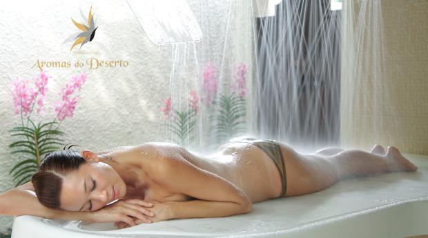 Spa Moment com Duche Vichy, Massagem e Cromoterapia em Lamaçães!